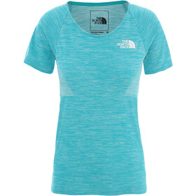 The North Face Impendor Seamless Tee Women, jaiden green light heather